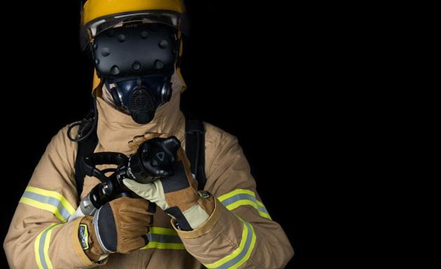 La realtà virtuale per l'addestramento dei pompieri