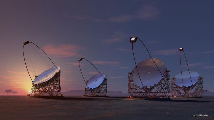 Alle Canarie il primo telescopio della rete più grande al mondo