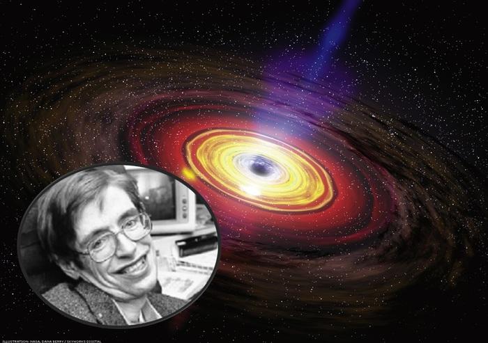 L'ultimo studio di Hawking sui buchi neri