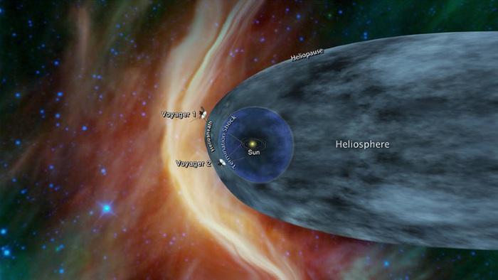 Sonda Nasa Voyager 2 pronta a varcare i confini del Sistema Solare