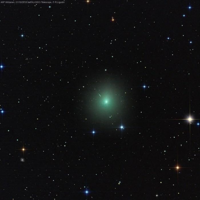 La cometa di Natale è già visibile, lo annuncia in un tweet