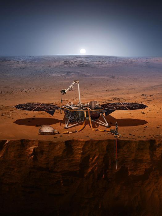 La sonda Insight della Nasa si prepara ad atterrare su Marte
