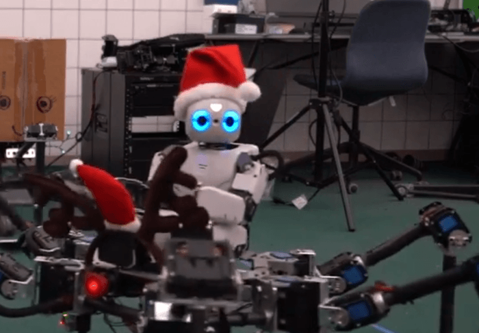 Buon Natale dai robot – VIDEO
