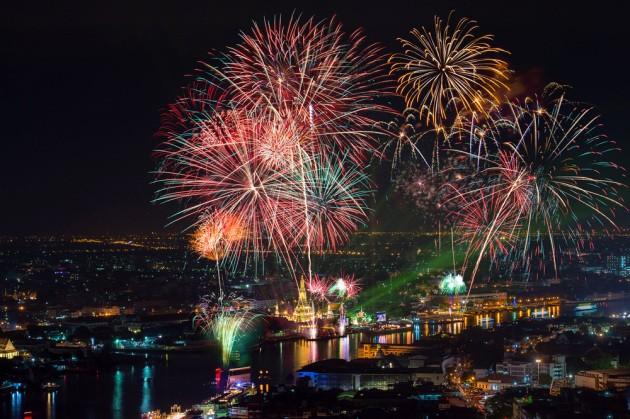 Fuochi d'artificio: come funzionano?