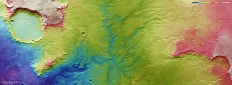 Gli antichi fiumi di Marte fotografati in HD