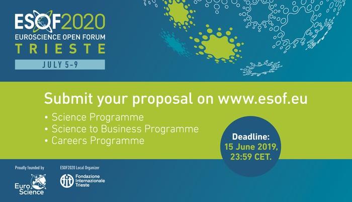 Esof 2020, si apre la corsa delle proposte