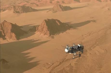 Un drone della Nasa volerà su Titano, la luna più grande di Saturno