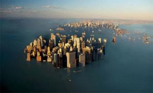 riscaldamento globale: l'innalzamento del livello dei mari