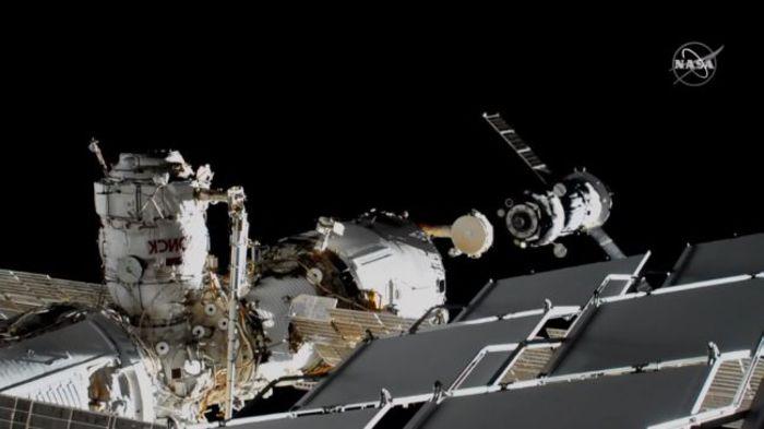 Riuscito l'aggancio della Soyuz del robot Fyodor alla Stazione Spaziale