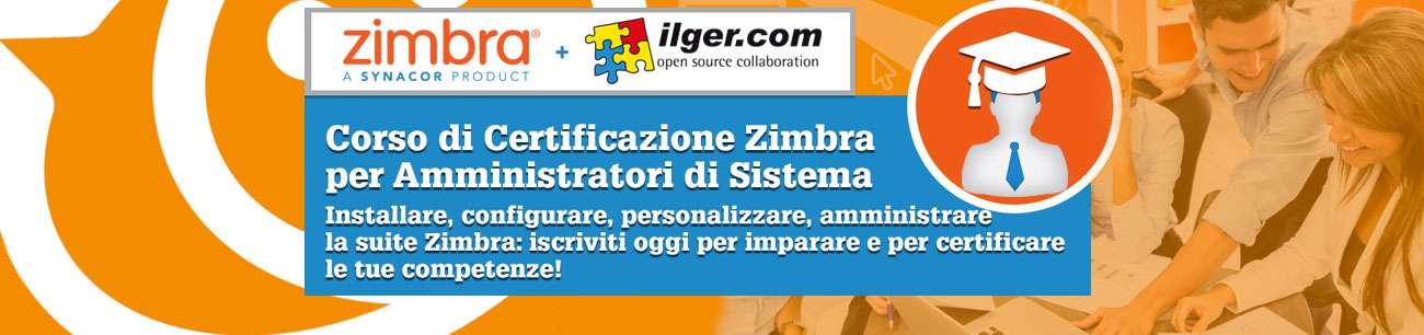 Ilger Certificazioni Zimbra