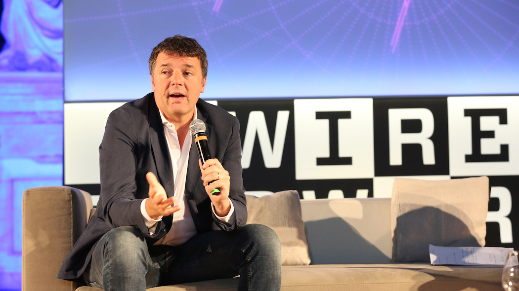 Matteo Renzi al Wired Next Fest (foto: Franco Russo)