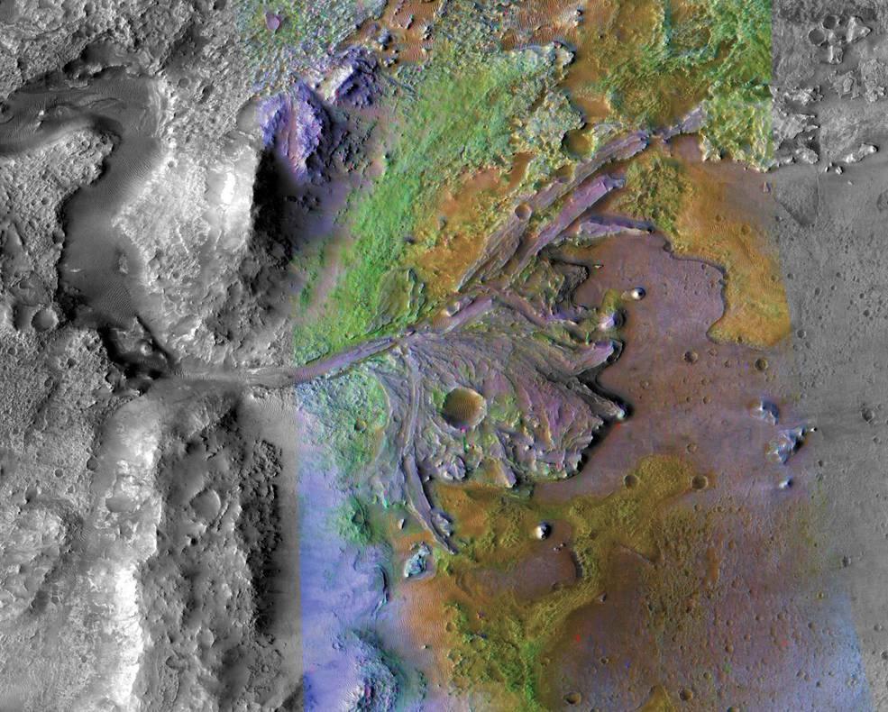 Cratere Jezero - Missione Mars 2020