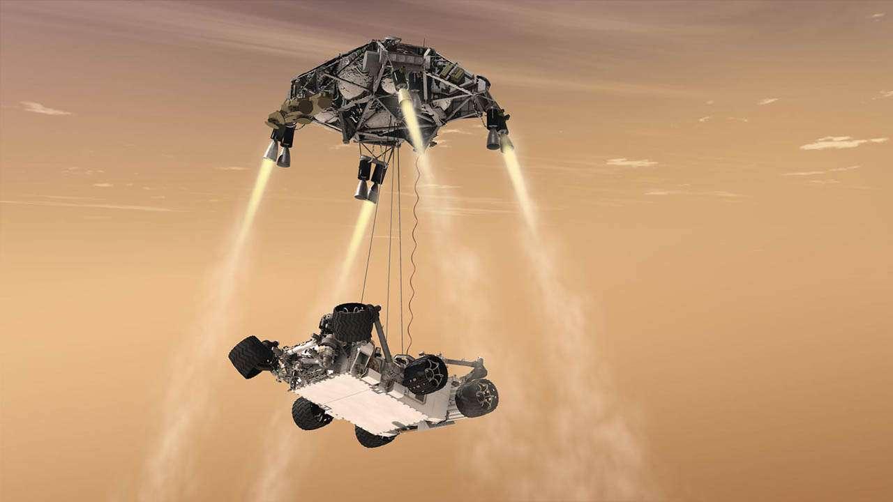 L'atterraggio della missione Mars 2020