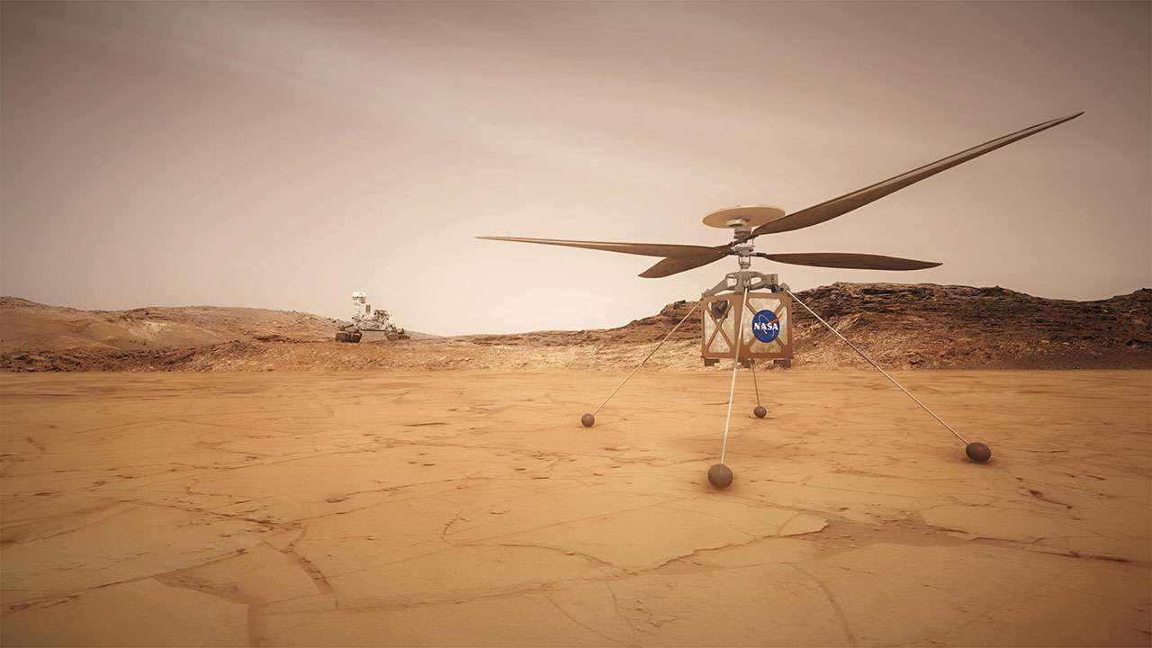 Prove superate: Mars Helicopter è pronto a volare su Marte con Mars 2020
