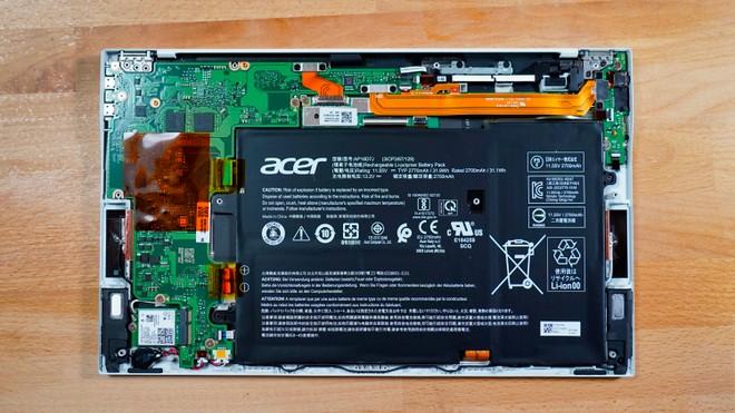 Recensione Acer Swift 7, ode alla leggerezza