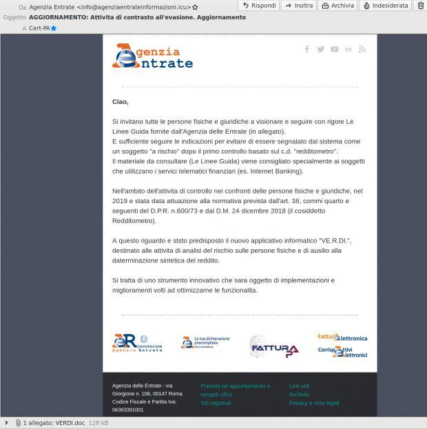 ransomware maze agenzia entrate