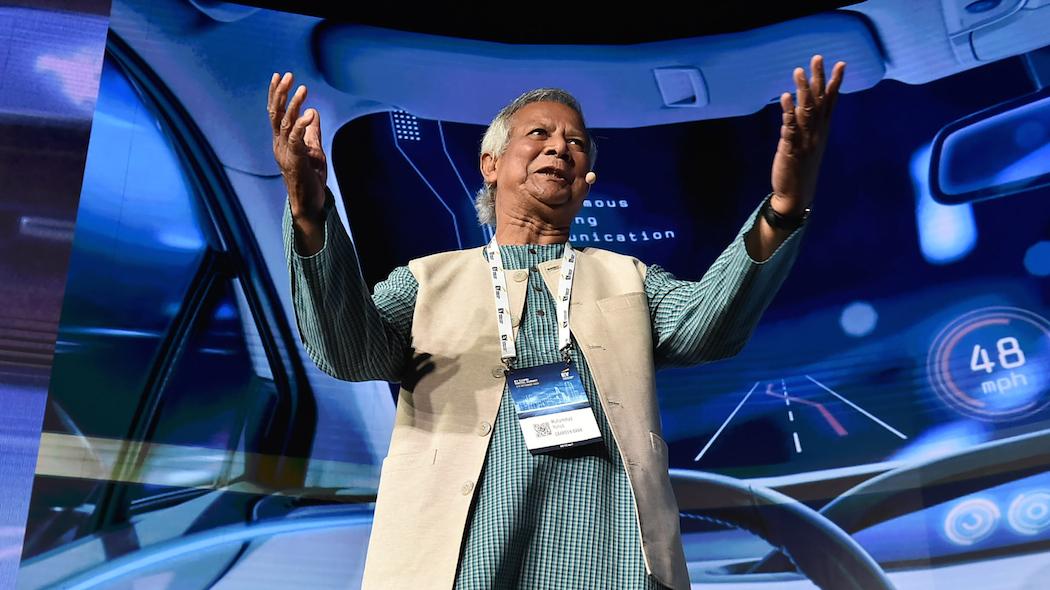 Mohammad Yunus: serve una leadership per guidare l'intelligenza artificiale