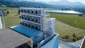 cattura e la conversione di anidride carbonica atmosferica