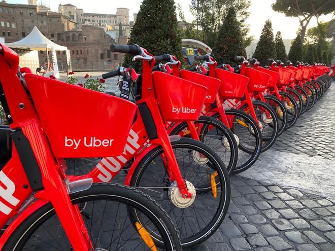 Uber JUMP: Roma prima città italiana del servizio di bike-sharing elettrico