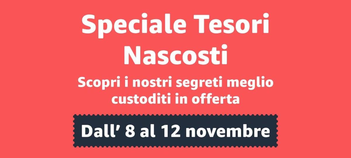 Amazon anticipa il Black Friday con Tesori Nascosti: le migliori offerte dall'8 al 12/11