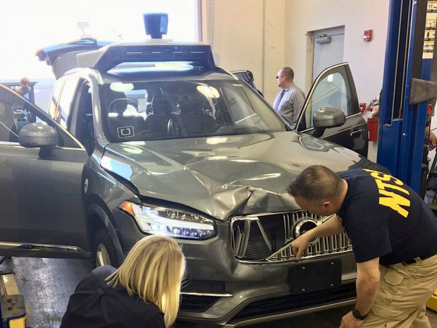 uber auto senza conducente uccide donna