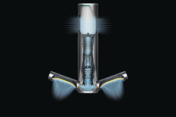 I flussi dell'aria dell'asciugamani ad aria Dyson Airblade 9kj