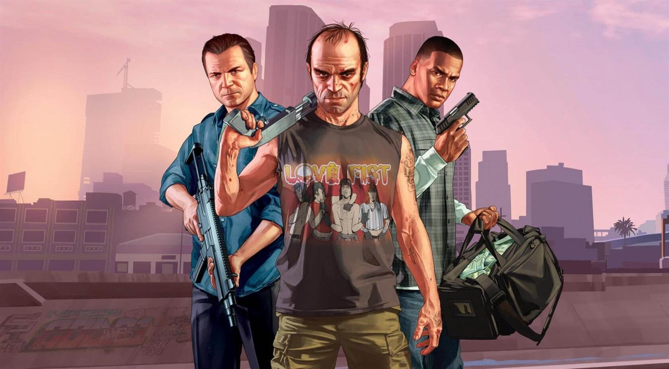 4) GTA V (2013)