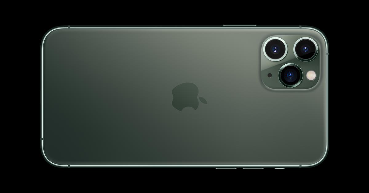 1) iPhone 11 Pro