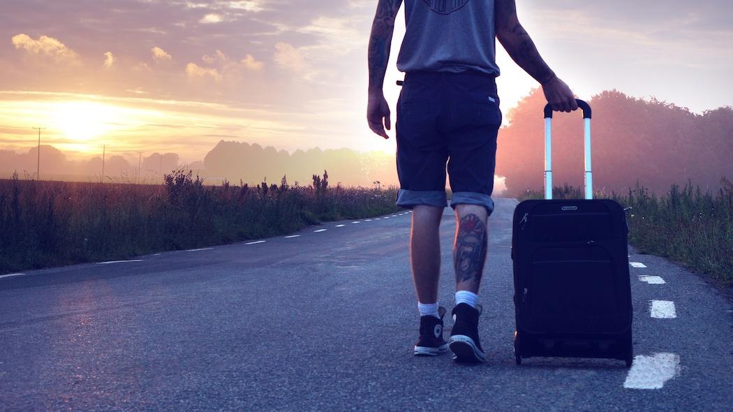 Ragazzo in viaggio