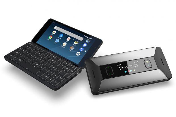 Lo smartphone con Linux in dual boot e tastiera completa
