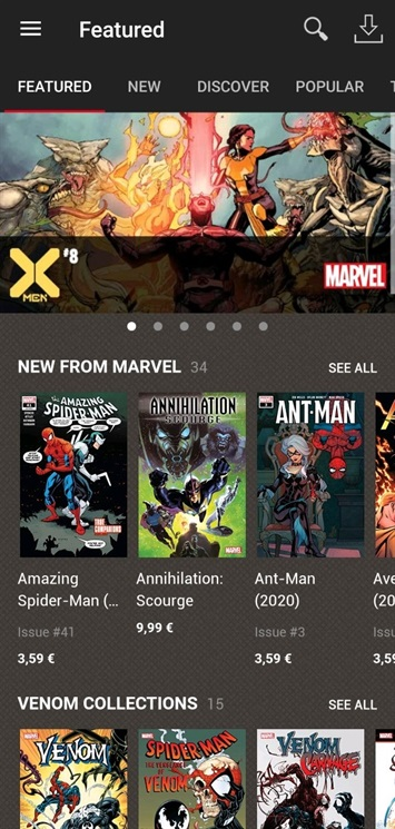 Marvel Comics e Marvel Unlimited