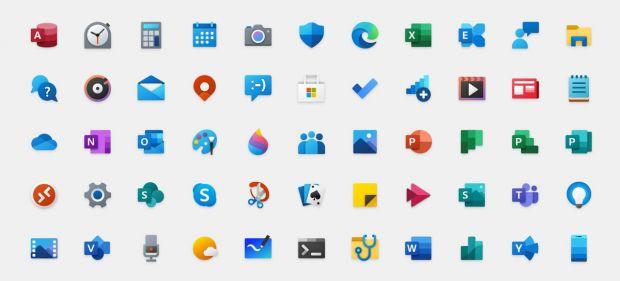 windows 10 nuove icone