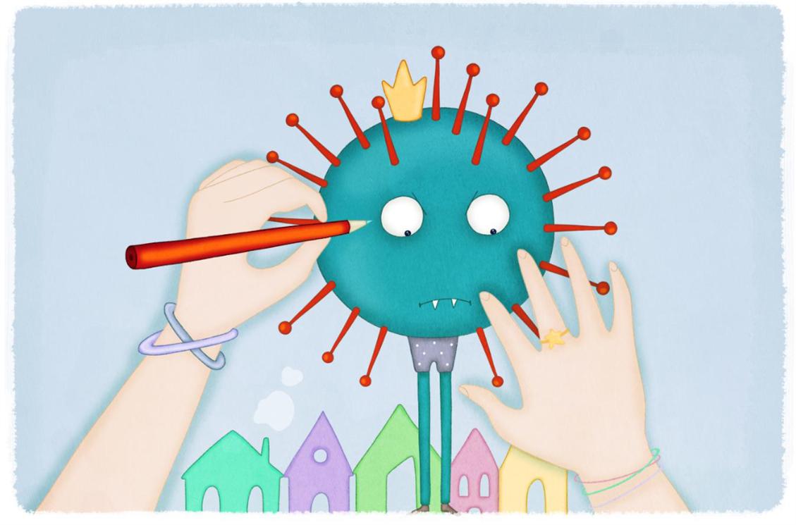 Storia di un coronavirus, di Francesca Dall'Ara (Erickson)