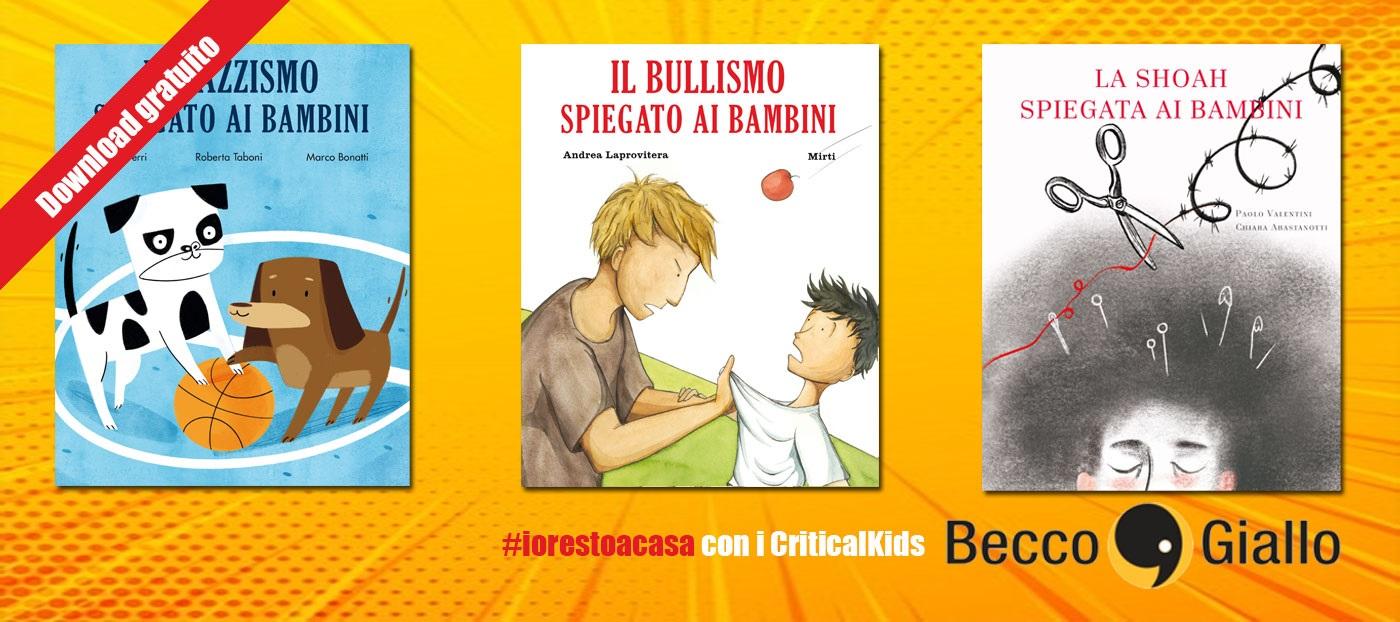 Tanti libri e attività per bambini da BeccoGiallo
