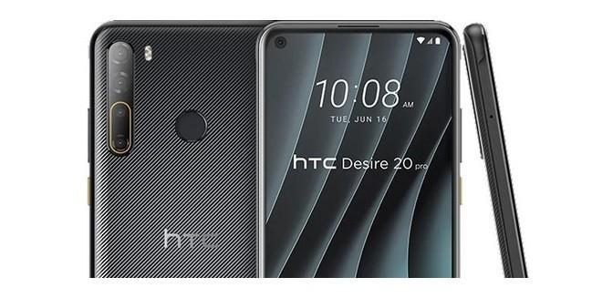 HTC Desire 20 Pro: disponibili al download gli sfondi ufficiali
