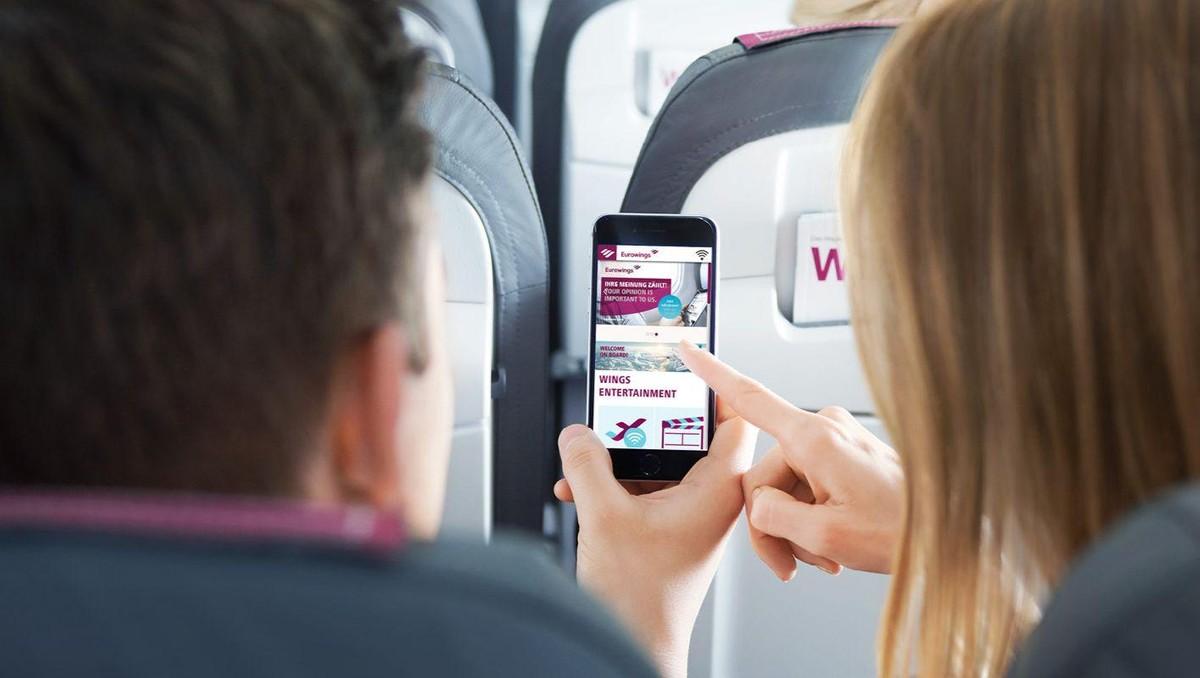 Altro che modalità aereo, con Lufthansa il WiFi a bordo è gratuito (ma non per tutti)