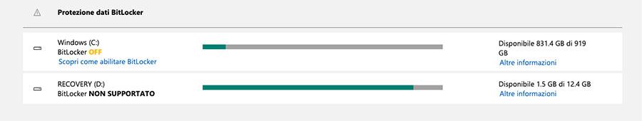 ecuperare la chiave di BitLocker