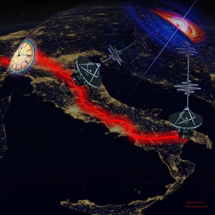 Dorsale in fibra ottica italiana aiuta a studiare il cosmo