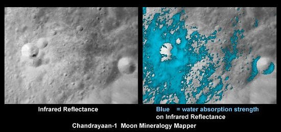 Curiosità Hi-Tech: l'acqua sulla Luna esiste, ma potremo sfruttarla veramente?