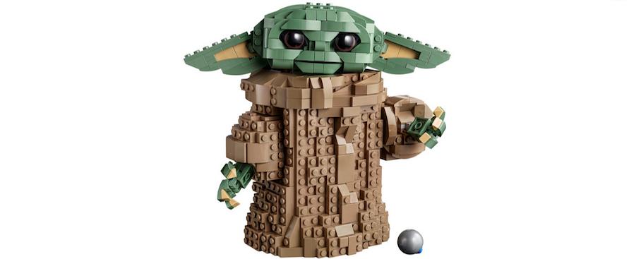 Il set Lego dedicato a Baby Yoda