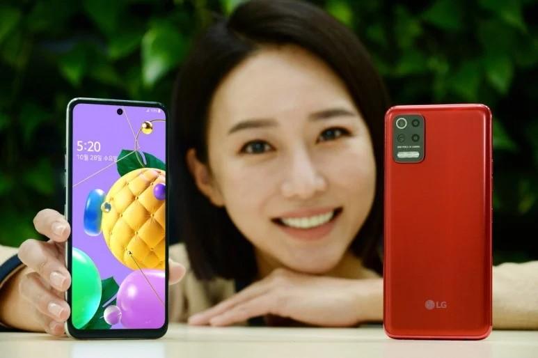 LG Q52 ufficiale: resistente, colorato e con 4 fotocamere | Prezzo Corea