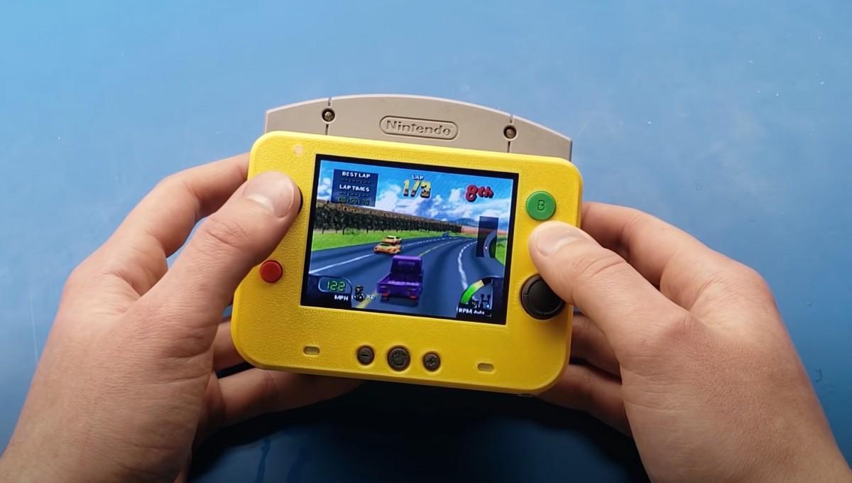 Nintendo 64 tascabile? Ecco la versione più piccola al mondo