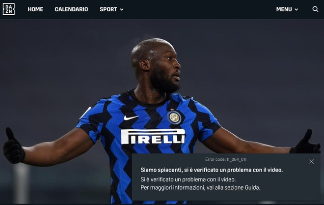 DAZN, 5 ore di black-out: utenti infuriati