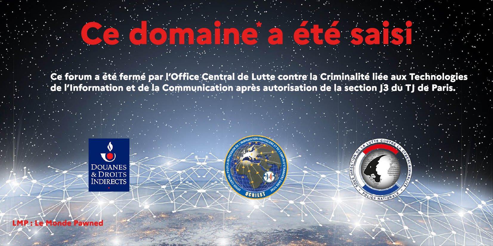 Le autorità francesi hanno smantellato un enorme mercato nero del dark web