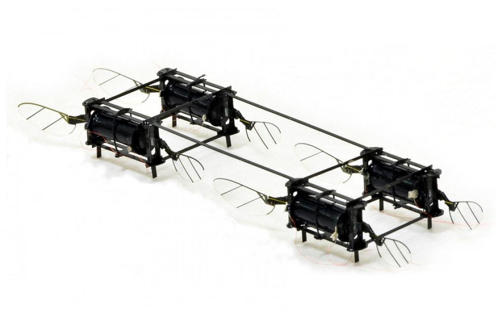 Il mini robot del MIT che vola come un insetto