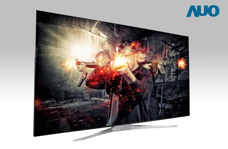 AU Optronics svela un pannello TV LCD Ultra HD da 85″ a 240 Hz